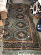An interesting old carpet ****Condition report**** Approximate size not including