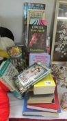 A mixed lot of books including Wisden's, Lincolnshire related etc.
