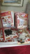 A quantity of Doll House magazines, furniture etc.