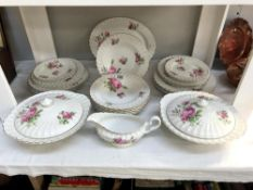 A 36 piece Royal Windsor bone china tea set by Hill & Co ****Condition report****
