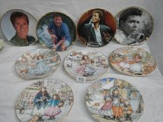 A mixed lot of collector's plates including 4 Royal Worcester Christmas plates,