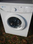 A White Knight WM 105M washing machine with drum clean function.
