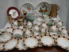 A mixed lot of tea and other ware including large teas set, all in good condition.