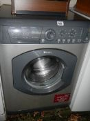 A Hotpoint Aquatius WML540 6kg 1400 spin washing machine.