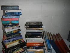 In excess of 30 hard back and 12 paperback books on a variety of subjects including Pole to Pole,