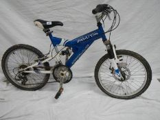 A Child's demolition bicycle in need of renovation,.