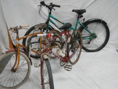 "A Viking ""Warlord"" 12 speed racing bike,"