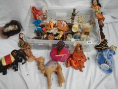 A good collection of dolls/animals/ornaments etc.
