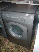 A Hotpoint Aquarius VTD 20 6kg reverse action washing machine, very clean.