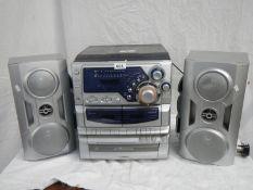 A Goodman's sound system.