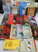 A mixed lot of hardback books various subjects including Yoga.