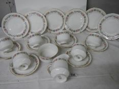 20 pieces of Paragon tea ware, no damage.