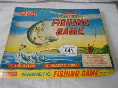 A vintage Merit fishing game.