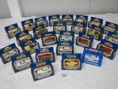 26 mint and boxed Matchbox model vehicles.