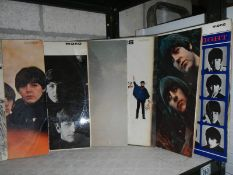 7 original mono Beatles LP records including Imagine by John Lennon.