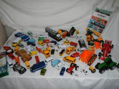 A good lot of play worn die cast and other cars.