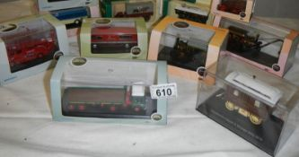 A mixed lot of boxed die cast models (10 in total).