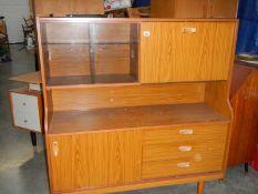 A teak cabinet.