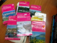 A large quantity of ordinance survey maps & other maps