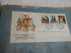 A collection of Royal Commonwealth first day covers.