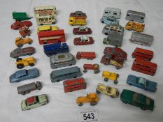 A good selection of early Lesney 1:75 die cast models (38 in total).