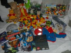A good large lot of assorted toys including Lego.