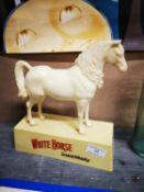 White Horse Scotch Whisky advertising Horse.