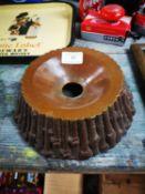 19th. C. stoneware spittoon
