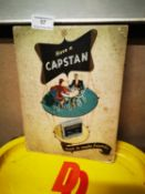 Have A Capstan's advertising showcard.