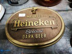 Heineken Special Dark Beer advertisement