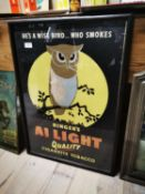 Unusual Ringer's Cigarette Tobacco advertising print