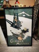 Colman's Mustard advertising print.