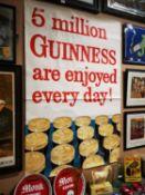 Guinness advertising poster.