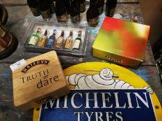 Collection of miniature Baileys & Irish Coffee bottles