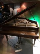 Eavestaff baby grand piano mahogany cased (not on site) W 140cm H 95cm D 140cm