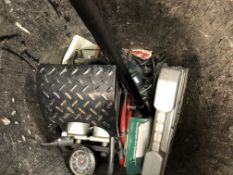CAR PUMP, BATTERY CHARGER, EXTENSION REEL,