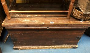 EARLY 20TH CENTURY PINE CARPENTRY WORKBOX