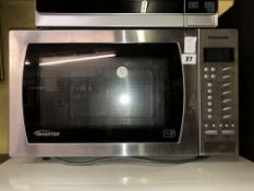 PANASONIC INVERTOR MICROWAVE OVEN