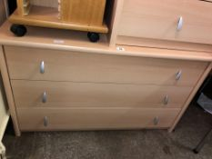 MATCHING LARGER THREE DRAWER CHEST