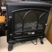 CLASSIC FLAME LOG EFFECT ELECTRIC FIRE