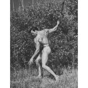 Don Whitman (1917-1998), TWO WESTERN PHOTOGRAPHY GUILD MALE NUDE BEEFCAKES: JIM (DEMETRIOS) DARDANIS