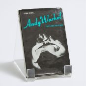 Andy Warhol (1928–1987), ANDY WARHOL - FILMS AND PAINTINGS BY PETER GIDAL, 1971, First edition, auto
