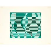 Josef Albers (1888–1976), FROM FORMULATION: ARTICULATION PORTFOLIO I, FOLDER II, 1972, Colour silksc