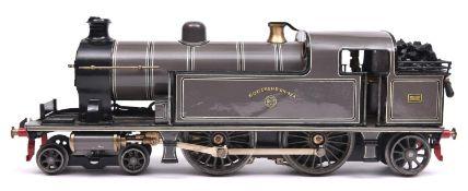 A Gauge One railway Bing London, Tilbury & Southend Railway 'Tilbury Tank' 4-4-2T locomotive,