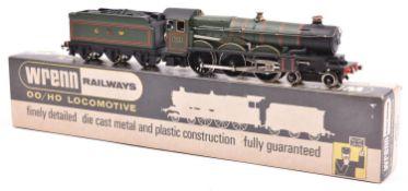 Wrenn Great Western Castle Class 4-6-0 tender locomotive, Devizes Castle RN7002 (W2222) in lined