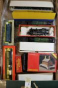 Small quantity of Hornby Dublo etc Railway. Including loose locomotives- B.R. 4-6-2 West Country