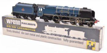 Wrenn Railways OO BR Coronation Class 4-6-2 locomotive and tender, City of Glasgow (W2229), RN