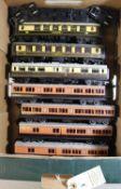 Quantity of Trix, Tri-ang, Wrenn etc model railway. 3x Trix- Bo-Bo diesel hydraulic locomotive,