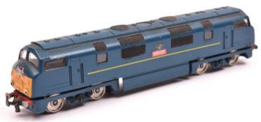 A scarce Trix OO gauge B.R. type 4 Bo-Bo Warship Class 42 diesel hydraulic Locomotive 'Vanguard',