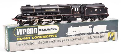 Wrenn Railways OO LMS Coronation Class 4-6-2 locomotive and tender, Duchess of Hamilton (W2241),
